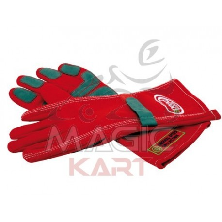 gants speed rouge