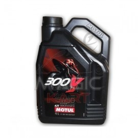 4 Litres 15W50 4T 100% Synthèse MOTUL 300V Factory Line Road Racing