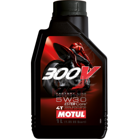 Motul 300V Factory Line Road Racing 5W30