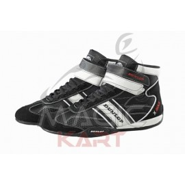 Dunlop bottines karting noire