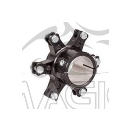 50mm Aluminium Floating Brake Disc Hub, Black