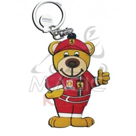 PORTE CLEF FERRARI TEDDY WORLD CHAMPION