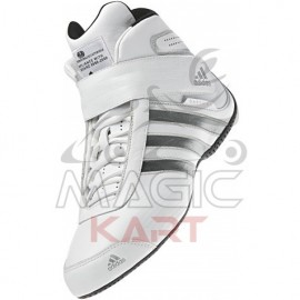 Bottine Adidas Daytona 2015 FIA blanc metallic