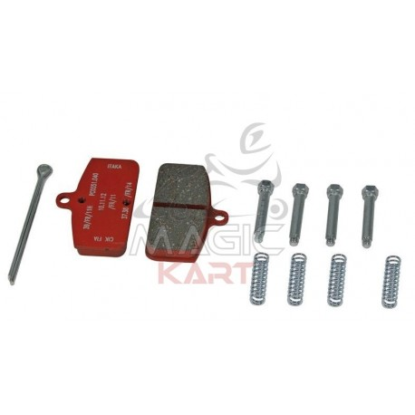 PLAQUETTES AR RACING RED ETRIER ITAKA