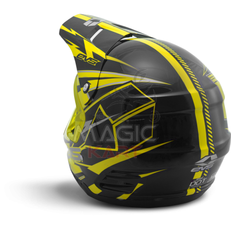 EVS CASQUE T5 BOLT / YELLOW / BLACK