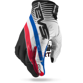 EVS GANTS PRO-GLOVE-GT / WHITE/BLACK/RWB