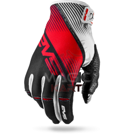 EVS GANTS PRO-GLOVE-VAPOR / BLACK/WHITE/RED