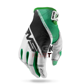 EVS GANTS PRO-GLOVE-VAPOR / WHITE/BLACK/GREEN