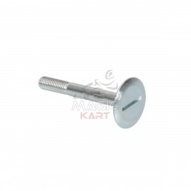 Screw for Seat M8x25mm. Head D.30mm H.2mm, machine product with rolling threat