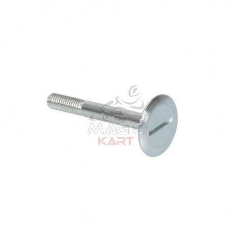Screw for Seat M8x65mm. Head D.30mm H.2mm, machine product with rolling threat