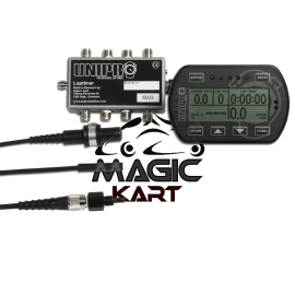UNIPRO LAPTIMER 6003 TEMP KIT WITH RECEIVER,
