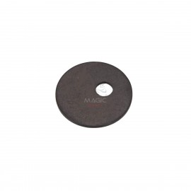 Aluminium washer, black anodized