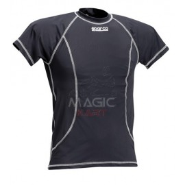 Sparco karting black t-shirt