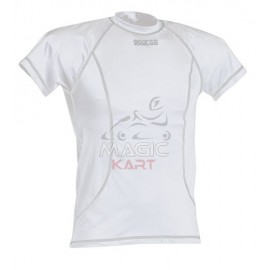 Sparco karting white t-shirt