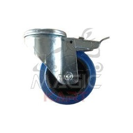 Front wheel with brake Dalmi 100mm