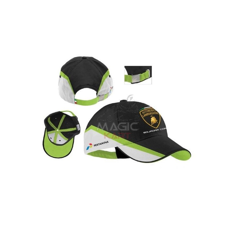 new styles another chance clearance prices casquette Lamborghini officiel team