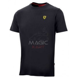man Ferrari crew neck black