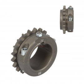Ergal sprocket 20T (428) Hole 50mm Key 8mm