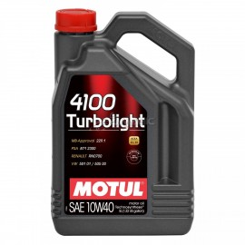 Motul oil 4100 Turbolight 10W40 karting