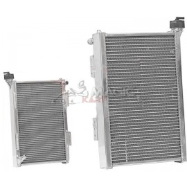 ALUMINIUM RADIATOR RV002D 300x450x56 mm