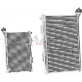 ROUNDED ALUMINIUM RADIATOR IR002 WITH CAP