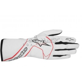 Gants automobile Alpinestars TECH 1 RACE blanc