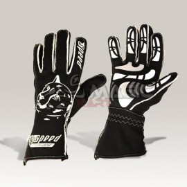 Speed gloves Melbourne G-2 black-white