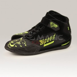 Speed shoes Torino KS-3 black/neon-yellow
