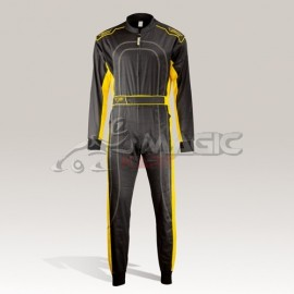 Speed combinaison Denver HS-2 noir-jaune