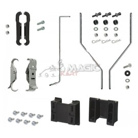 Kit fixation nassau panel & spoiler CRG AV CIK/FIA