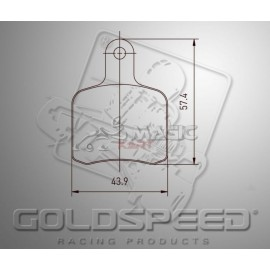 Goldspeed pads for OTK BS5 - SA2