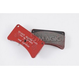 KELGATE KA4 HARD Brake Pad Set (Red)