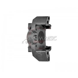 Half rear brake caliper V05 right black CRG