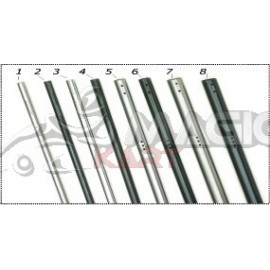Axle 50 M20 std black 1020 CRG