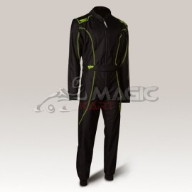 Comninaison Speed racing Barcelona RS-1 noir-neon jaune