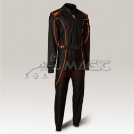Combinaison Speed racing Barcelona RS-1 noir-neon orange
