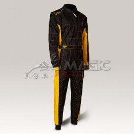 Combianison Speed Racing Barcelona RS-2 CIK noir,jaune