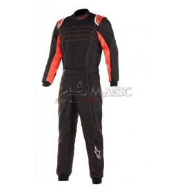 Combinaison karting Alpinestars KMX9 2019 noire-orange