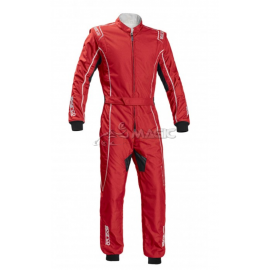 Combinaison karting Sparco KS-3 GROOVE rouge