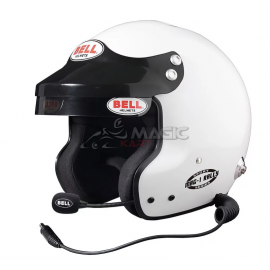 Casque FIA jet BELL MAG-1 Rally, SNELL SA2015