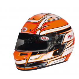 casque Bell KC7-CMR Kart Venom Orange