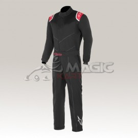 Alpinestars suit INDOOR black/red