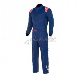 Alpinestars combi INDOOR noir/rouge
