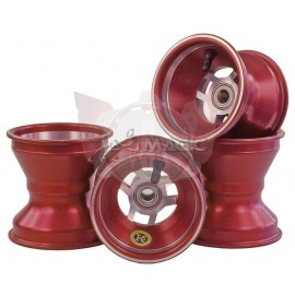Set 4 jantes 100cc aluminium 110/140 racing