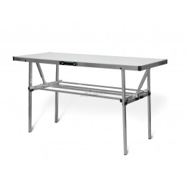 ALUMINIUM WORKBENCH with WHEEL HOLDER STONE