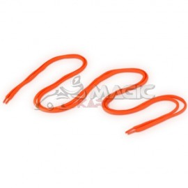 115cm orange-fluo lace