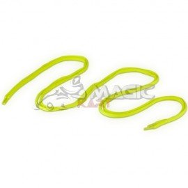 laces 115 cm yellow-fluo