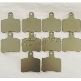 sets of 10 shims 1mm for BSD brake pads OTK
