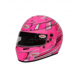 Casque karting Bell KC7-CMR CHAMPION PINK