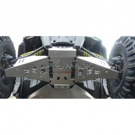 Protections de triangles AV Alu POLARIS RZR 900 S / 1000 S